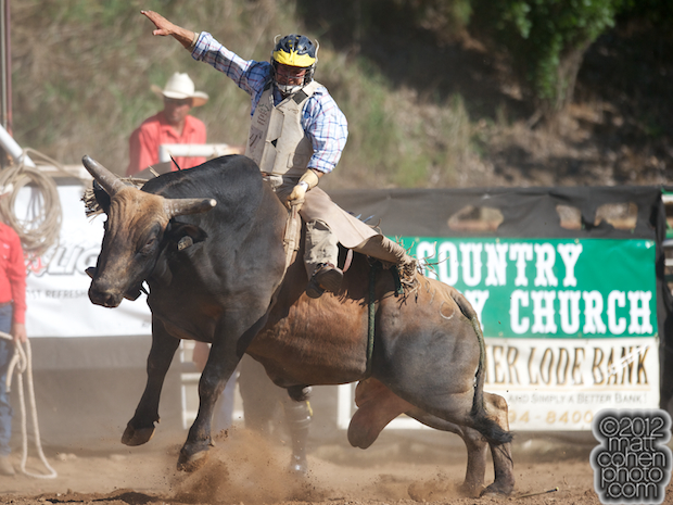 2012 Mother Lode Round-Up - Chance Hannum