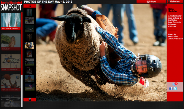 2012 Mother Lode Round-Up - Sports Illustrated Photo of the Day