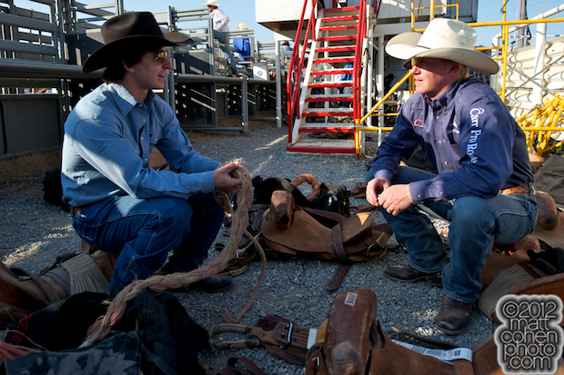 2012 Redding Rodeo - Luke Butterfield & Taos Muncy