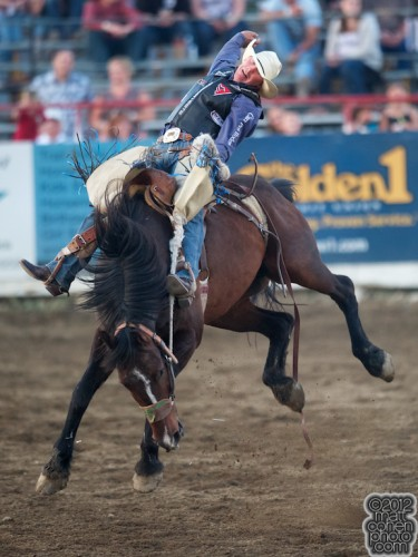 2012 Redding Rodeo - Taos Muncy