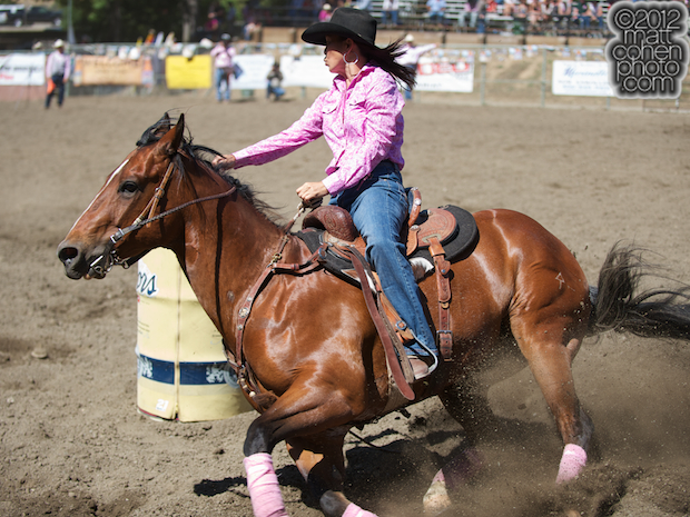 2012 Rowell Ranch Rodeo - Stacey Freitas