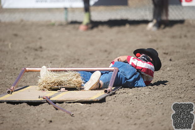 2012 Rowell Ranch Rodeo - Donnie Landis