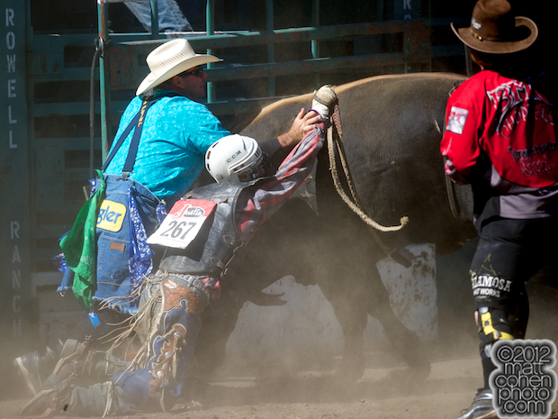 2012 Rowell Ranch Rodeo - Tim O'Connor & Brady Williams