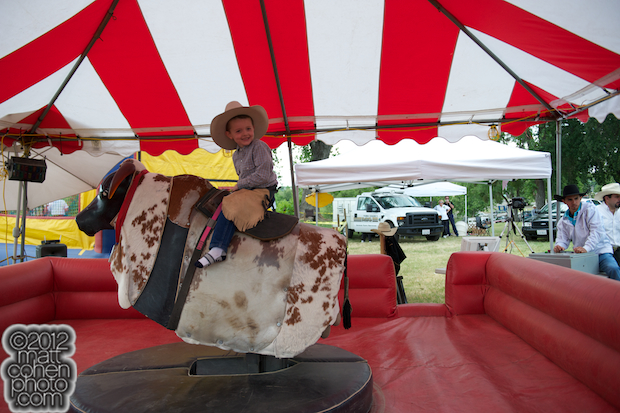 2012 Marysville Stampede - Mechanical Bull