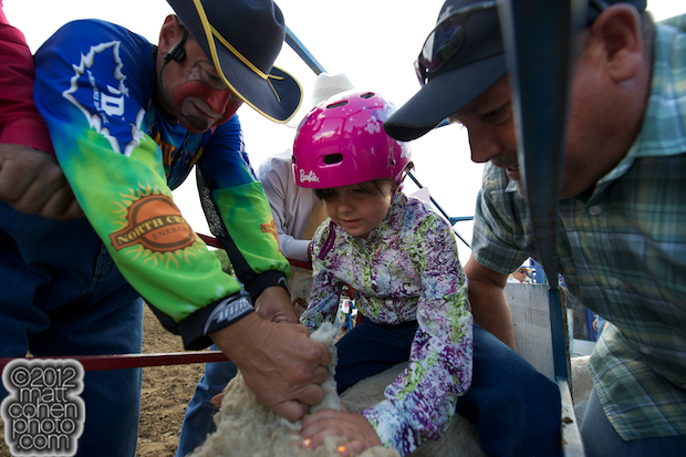 2012 Marysville Stampede - Mutton Bustin'