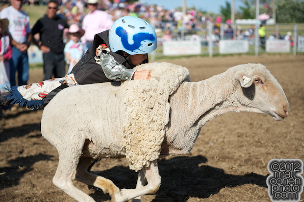 2012 Marysville Stampede - Mutton Bustin