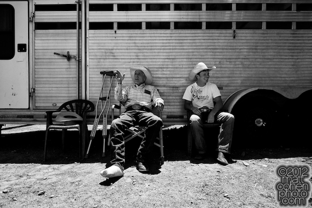 John Growney & Steve Woolsey - 2012 Livermore Rodeo