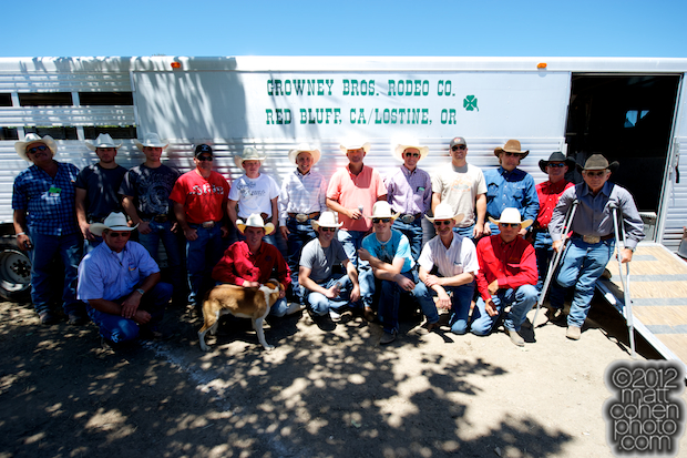 Growney Brothers Rodeo Company & friends - 2012 Livermore Rodeo