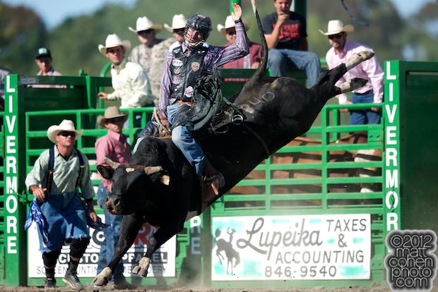 Josh Daries - 2012 Livermore Rodeo