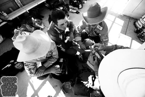 Ryan Gray, Steven Dent, Jason Havens & Joe Gunderson - 2012 Reno Rodeo