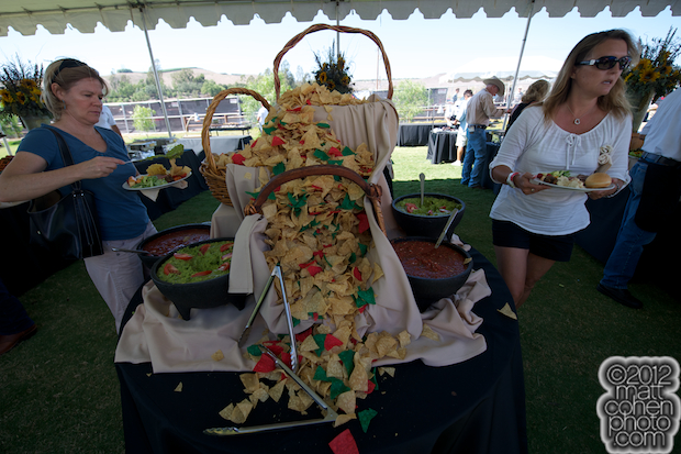 2012 Rancho Mission Viejo Rodeo - Tortilla Chip Waterfall