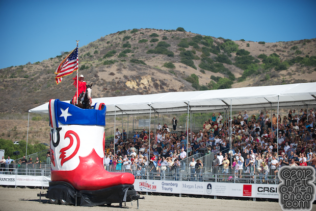 2012 Rancho Mission Viejo Rodeo - Linsay Rosser-Sumpter