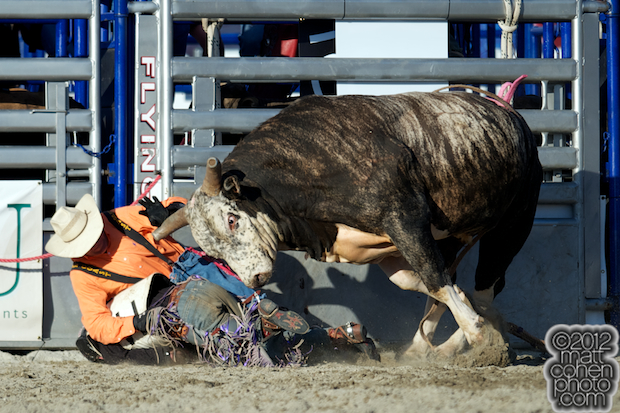 2012 Rancho Mission Viejo Rodeo - Louis Jones & Friday Wright II