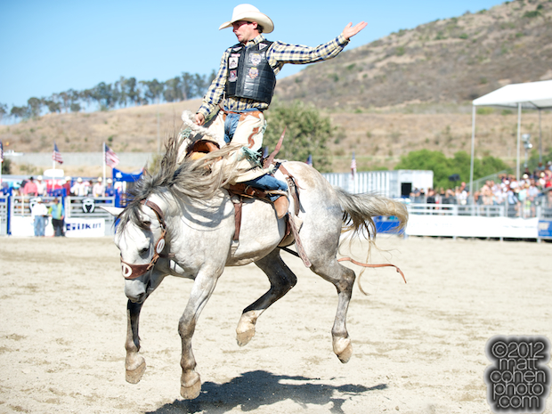 2012 Rancho Mission Viejo Rodeo - Louie Brunson