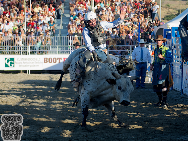 2012 Rancho Mission Viejo Rodeo - Trey Benton III