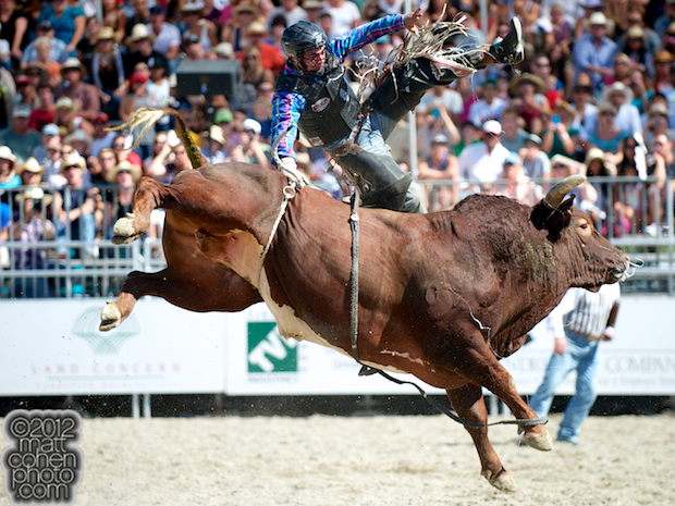 2012 Rancho Mission Viejo Rodeo - Brad Harris