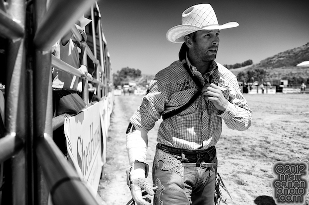 2012 Rancho Mission Viejo Rodeo - Brian Bain