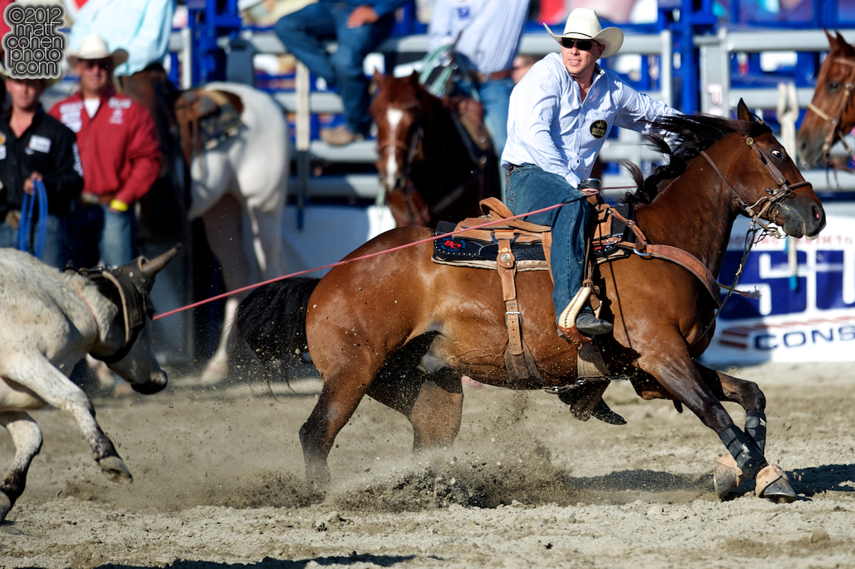 2012 Rancho Mission Viejo Rodeo - Spencer Mitchell