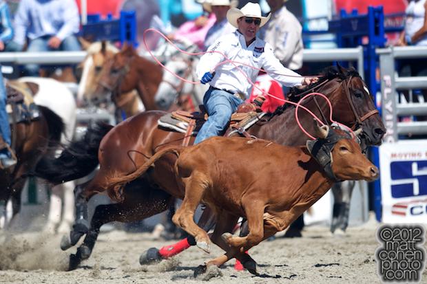 2012 Rancho Mission Viejo Rodeo - Trevor Brazile
