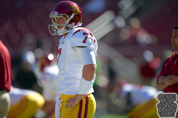 Matt Barkley - USC at Stanford