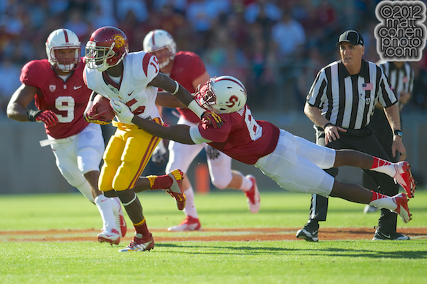 Nelson Agholor & Jordan Richards - USC at Stanford
