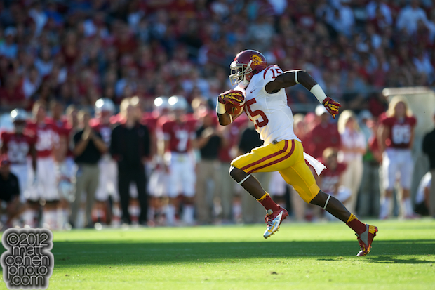Nelson Agholor - USC at Stanford