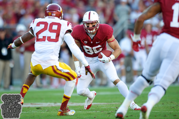 Zach Ertz - USC at Stanford