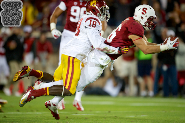 Zach Ertz & Dion Bailey - USC at Stanford
