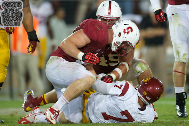 Chase Thomas & Matt Barkley - USC at Stanford
