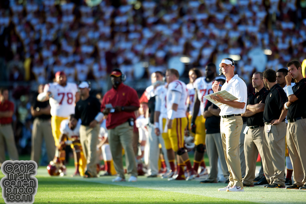 Lane Kiffin - USC at Stanford