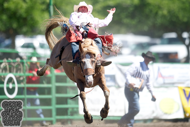 2012 Wrangler National Finals Rodeo Qualifiers: Bareback - Kaycee Feild