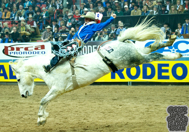 2012 Wrangler National Finals Rodeo Qualifiers: Bareback - Will Lowe
