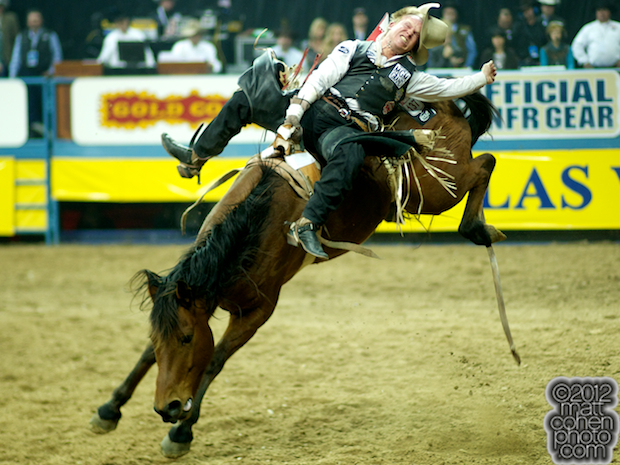 2012 Wrangler National Finals Rodeo Qualifiers: Bareback - Wes Stevenson