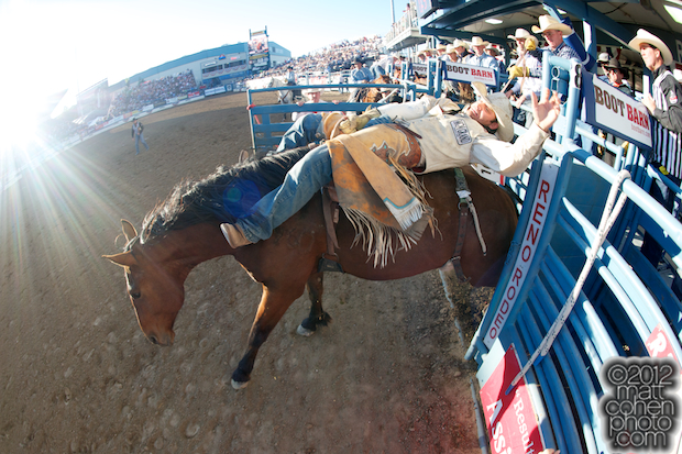 2012 Wrangler National Finals Rodeo Qualifiers: Bareback - Casey Colletti
