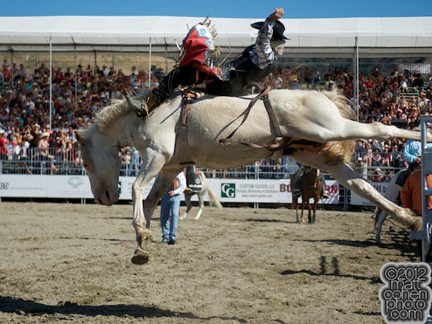 2012 Wrangler National Finals Rodeo Qualifiers: Bareback - Jared Keylon
