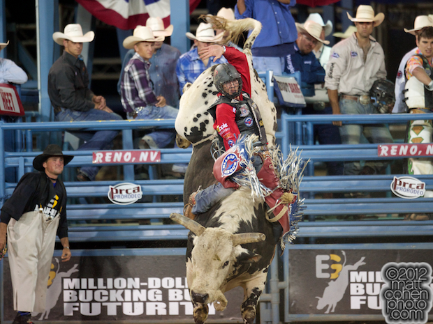 2012 Wrangler National Finals Rodeo Qualifiers: Bull Riding - J.W. Harris