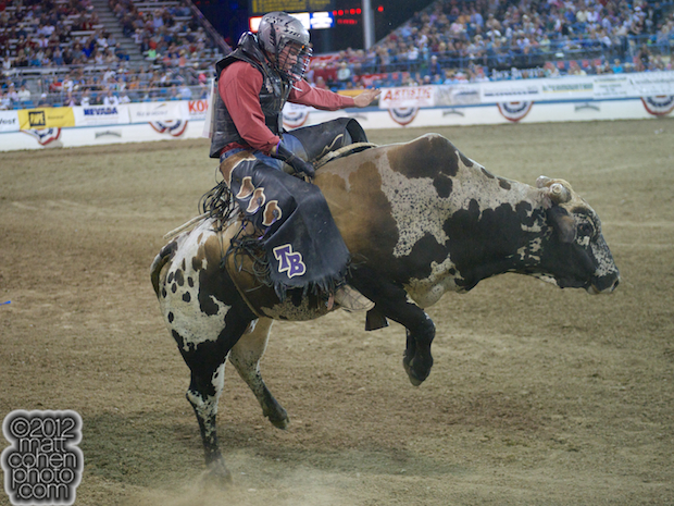 2012 Wrangler National Finals Rodeo Qualifiers: Bull Riding - Trey Benton III