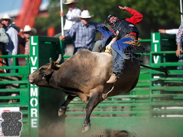 2012 Wrangler National Finals Rodeo Qualifiers: Bull Riding - Ardie Maier