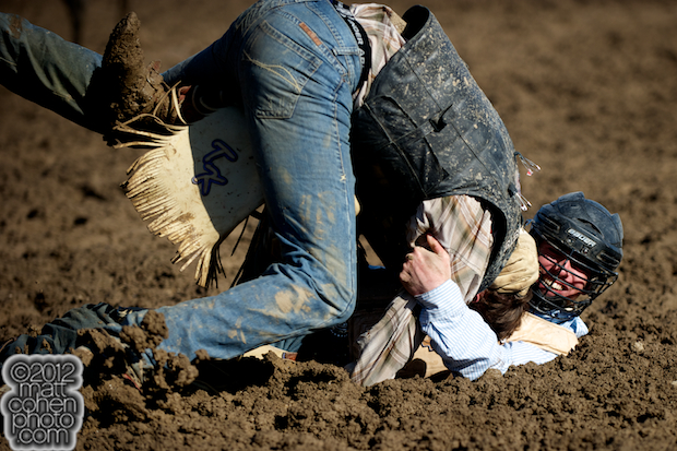 2012 Wrangler National Finals Rodeo Qualifiers: Bull Riding - Trevor Kastner & Seth Glause
