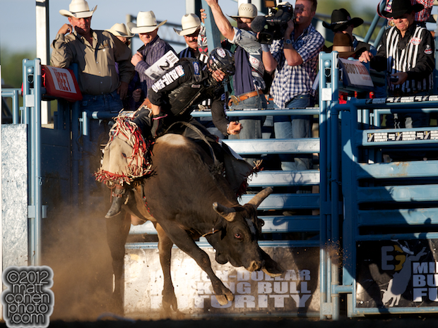 2012 Wrangler National Finals Rodeo Qualifiers: Bull Riding - Shane Proctor
