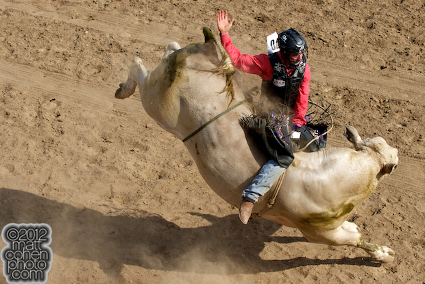 2012 Wrangler National Finals Rodeo Qualifiers: Bull Riding - Beau Schroeder