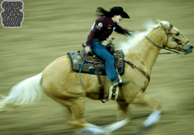 2012 Wrangler National Finals Rodeo Qualifiers: Barrel Racing - Brittany Pozzi