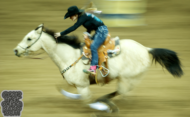 2012 Wrangler National Finals Rodeo Qualifiers: Barrel Racing - Carlee Pierce