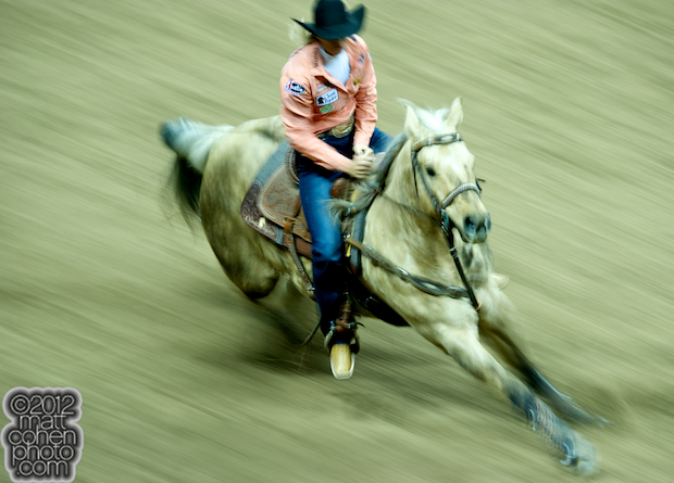 2012 Wrangler National Finals Rodeo Qualifiers: Barrel Racing - Sherry Cervi