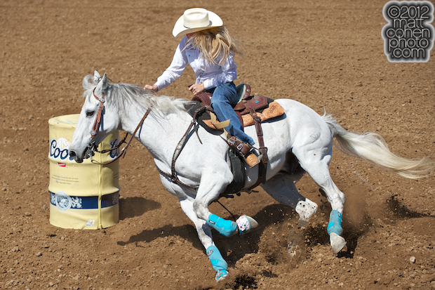 2012 Wrangler National Finals Rodeo Qualifiers: Barrel Racing - Kaley Bass