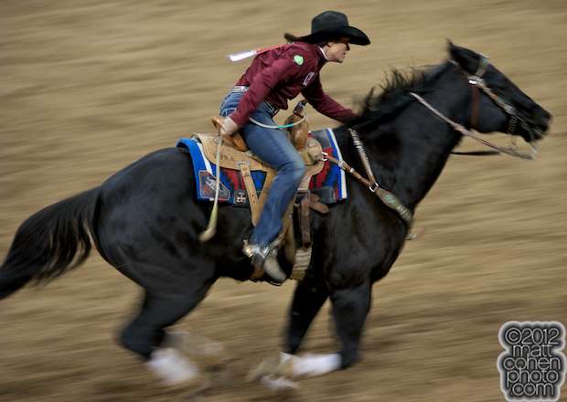 2012 Wrangler National Finals Rodeo Qualifiers: Barrel Racing - Brenda Mays