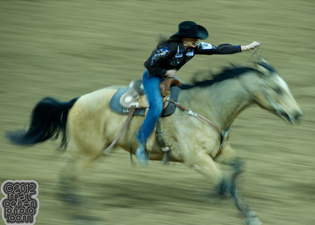 2012 Wrangler National Finals Rodeo Qualifiers: Barrel Racing - Lisa Lockhart