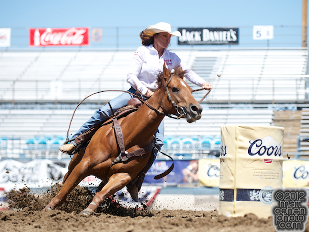 2012 Wrangler National Finals Rodeo Qualifiers: Barrel Racing - Kelli Tolbert