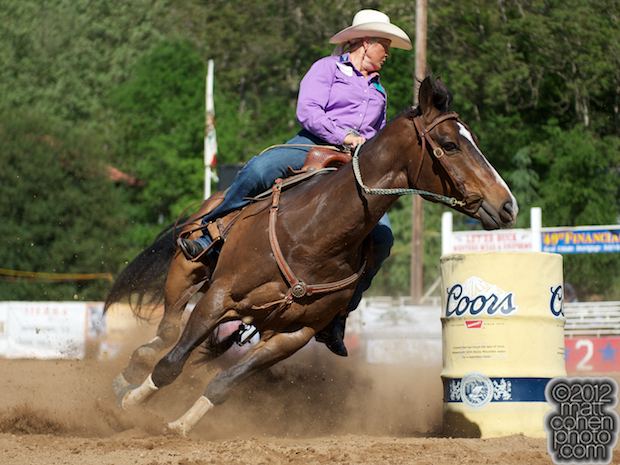 2012 Wrangler National Finals Rodeo Qualifiers: Barrel Racing - Lee Ann Rust