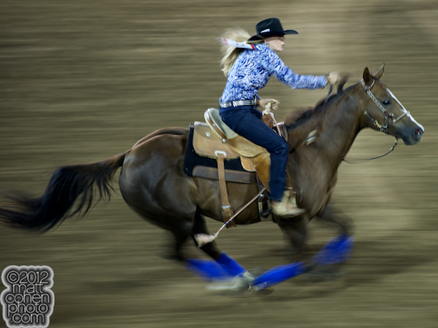 2012 Wrangler National Finals Rodeo Qualifiers: Barrel Racing - Christina Richman